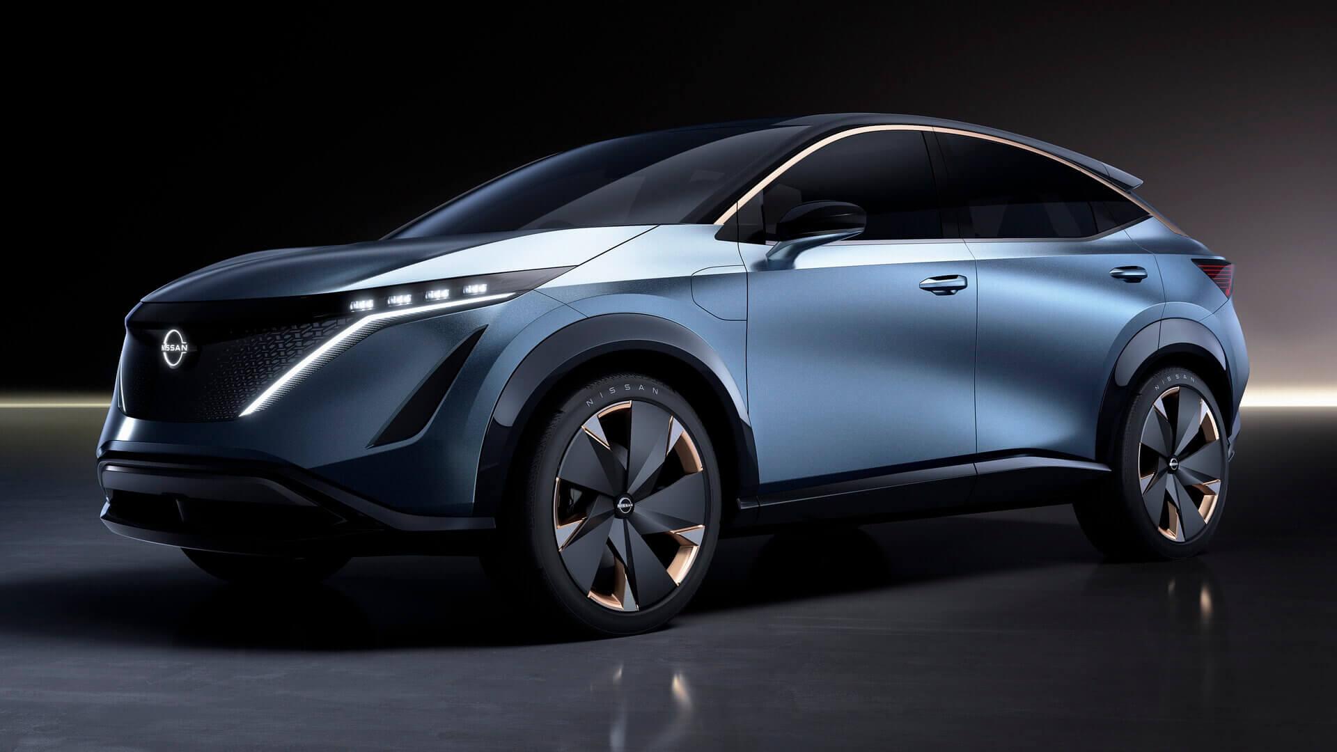 Концепт электрического кроссовера Nissan Ariya