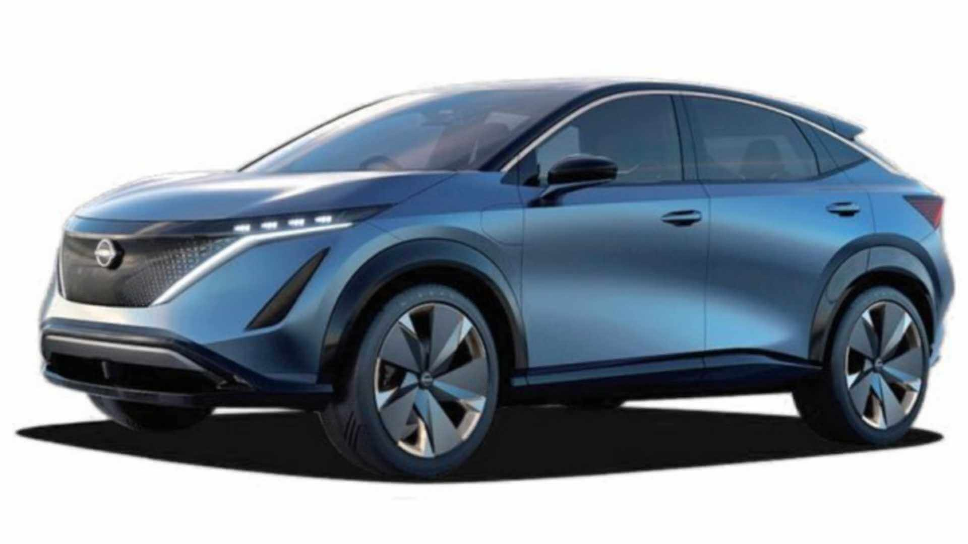 Концепт кроссовера Nissan Ariya