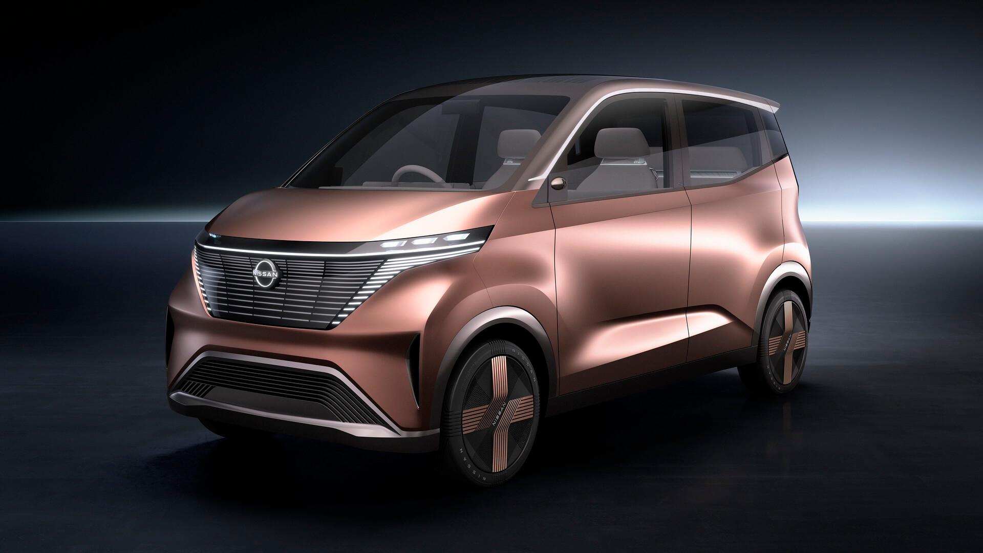 Nissan и Mitsubishi выпустят мини электромобиль для рынка Японии