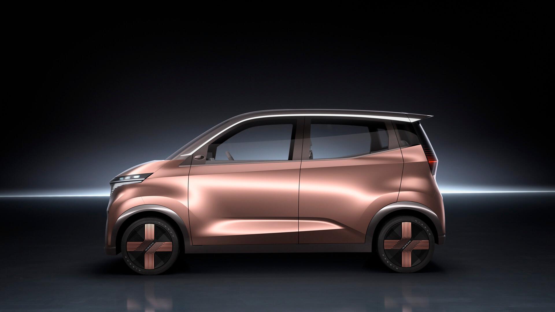 Концепт городского электрического автомобиля Nissan IMk