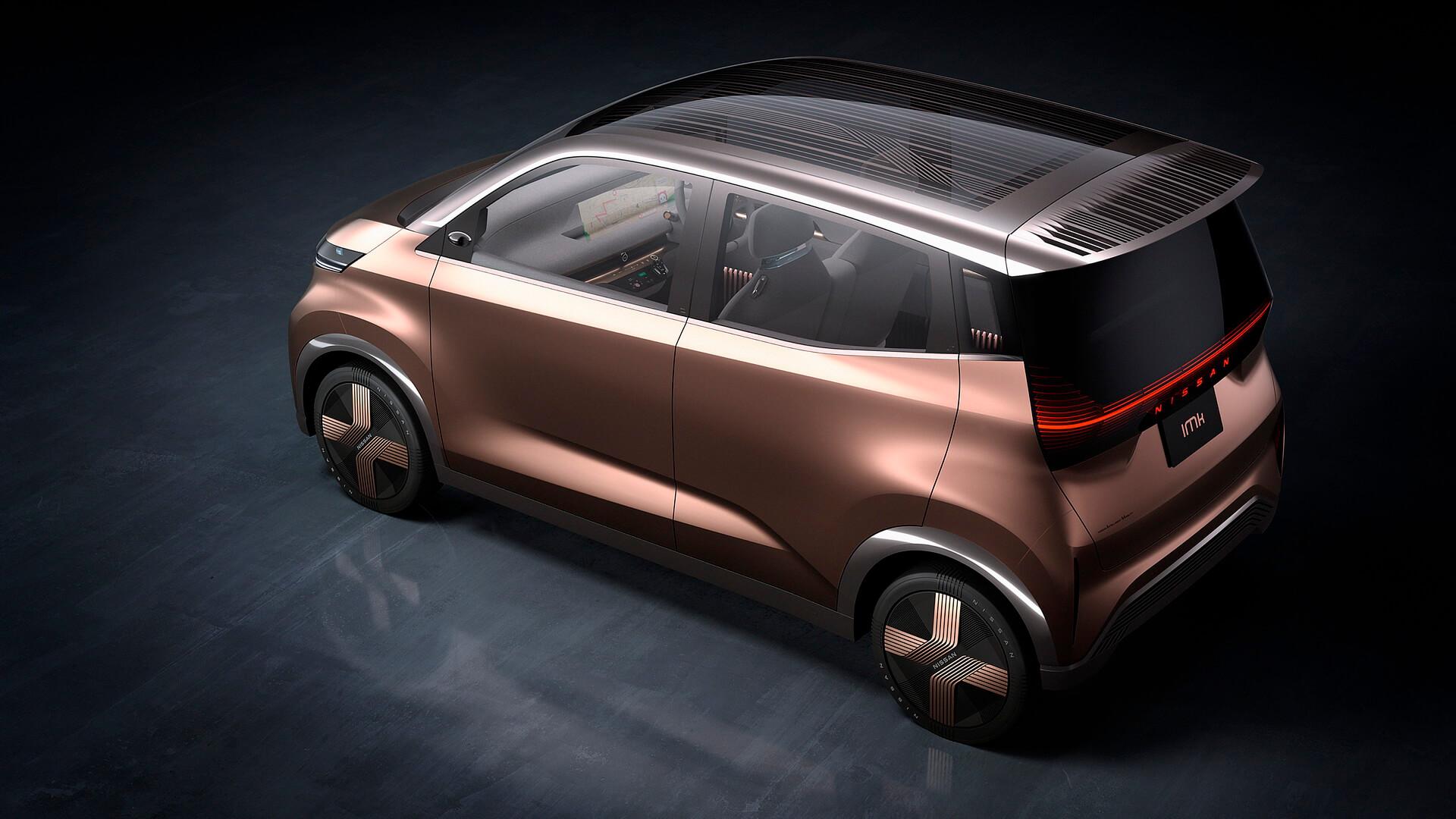 Nissan и Mitsubishi выпустят электрический кей-кар на базе Nissan IMk