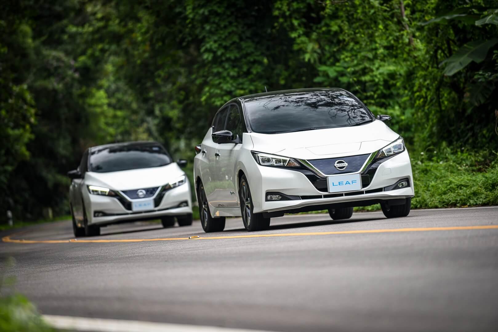 Nissan Leaf покорил самую высокую гору Таиланда наодном заряде