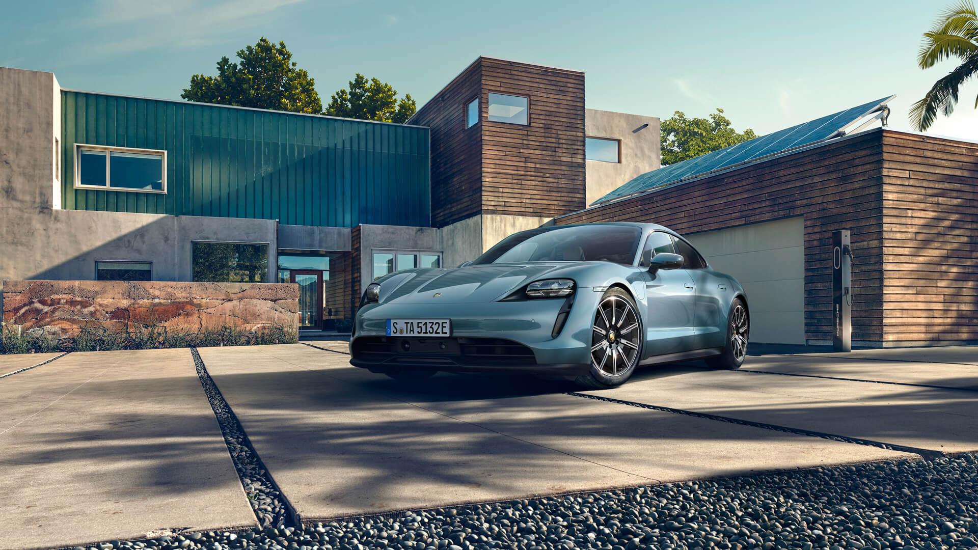 Фотография экоавто Porsche Taycan 4S - фото 8