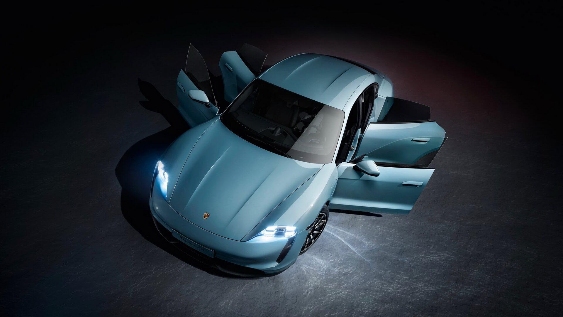 Фотография экоавто Porsche Taycan 4S - фото 2