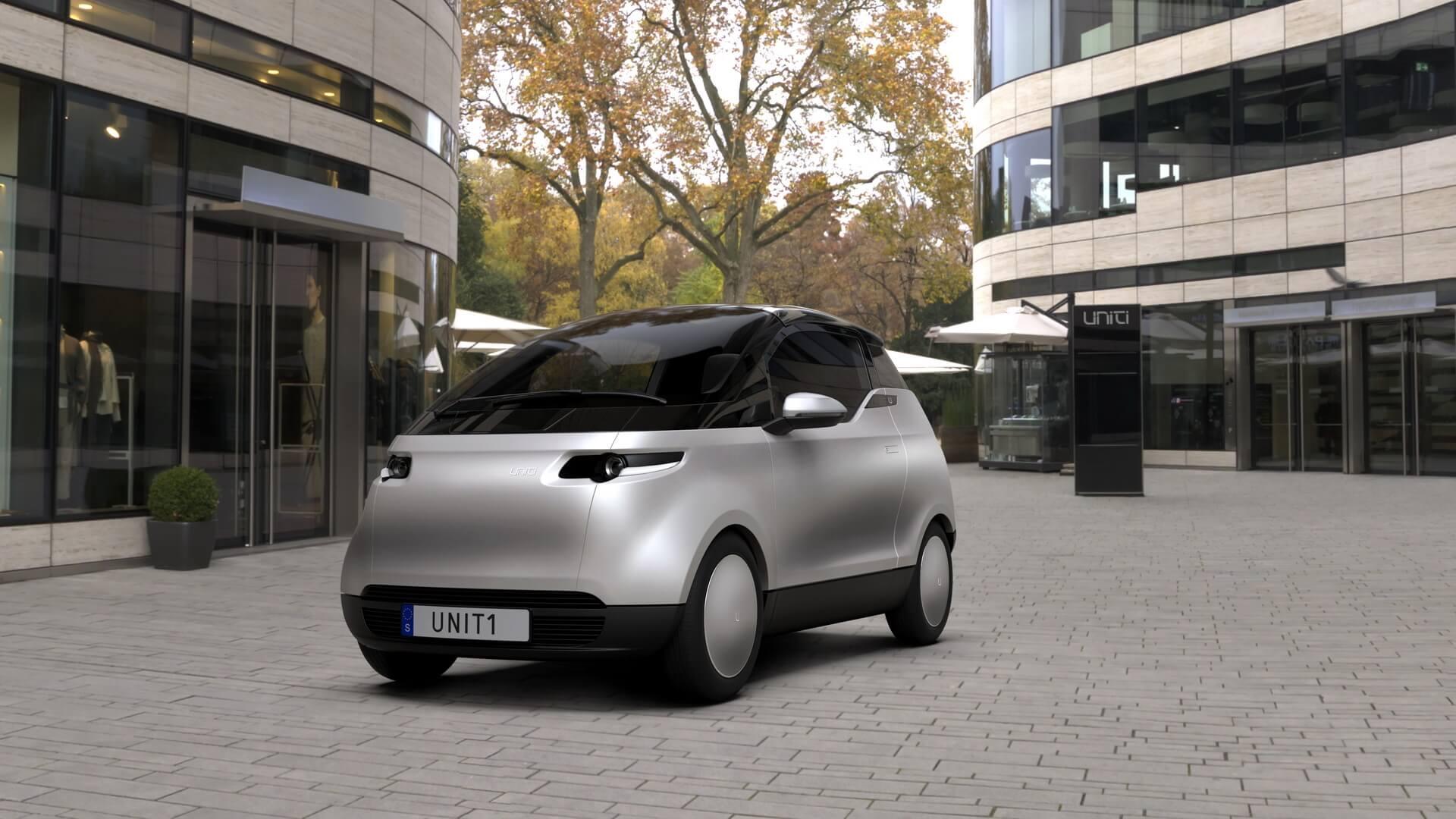 Шведский стартап Uniti опубликовал цены и технические характеристики своего компактного электромобиля One
