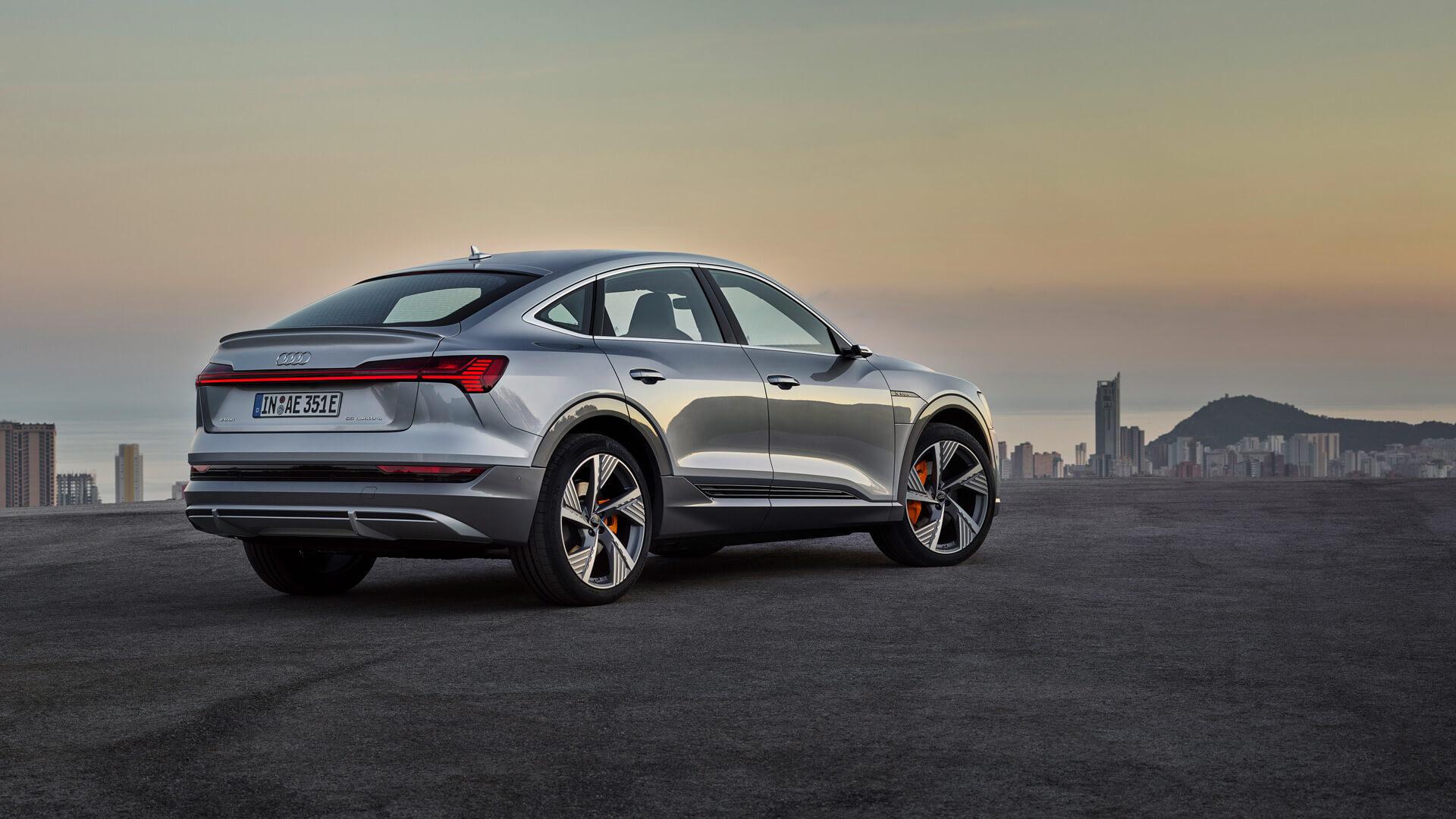 Фотография экоавто Audi e-tron Sportback 55 quattro - фото 5