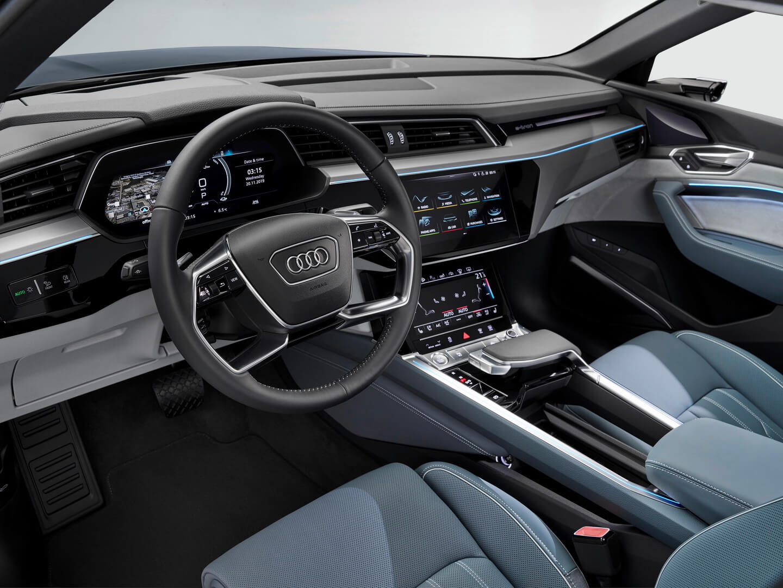 Фотография экоавто Audi e-tron Sportback 50 quattro - фото 11