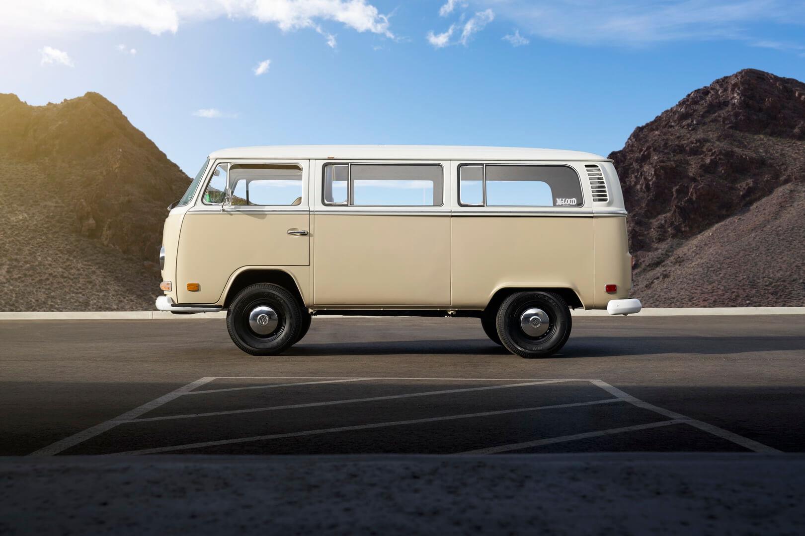 Электрический Volkswagen T2 Bulli