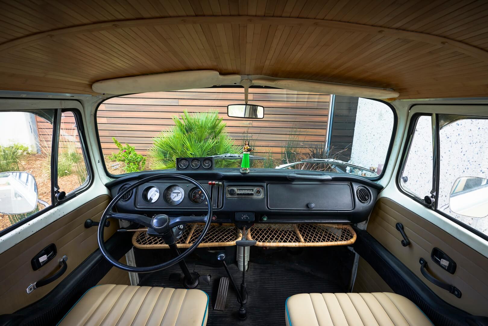 Салон классического Volkswagen Type 2