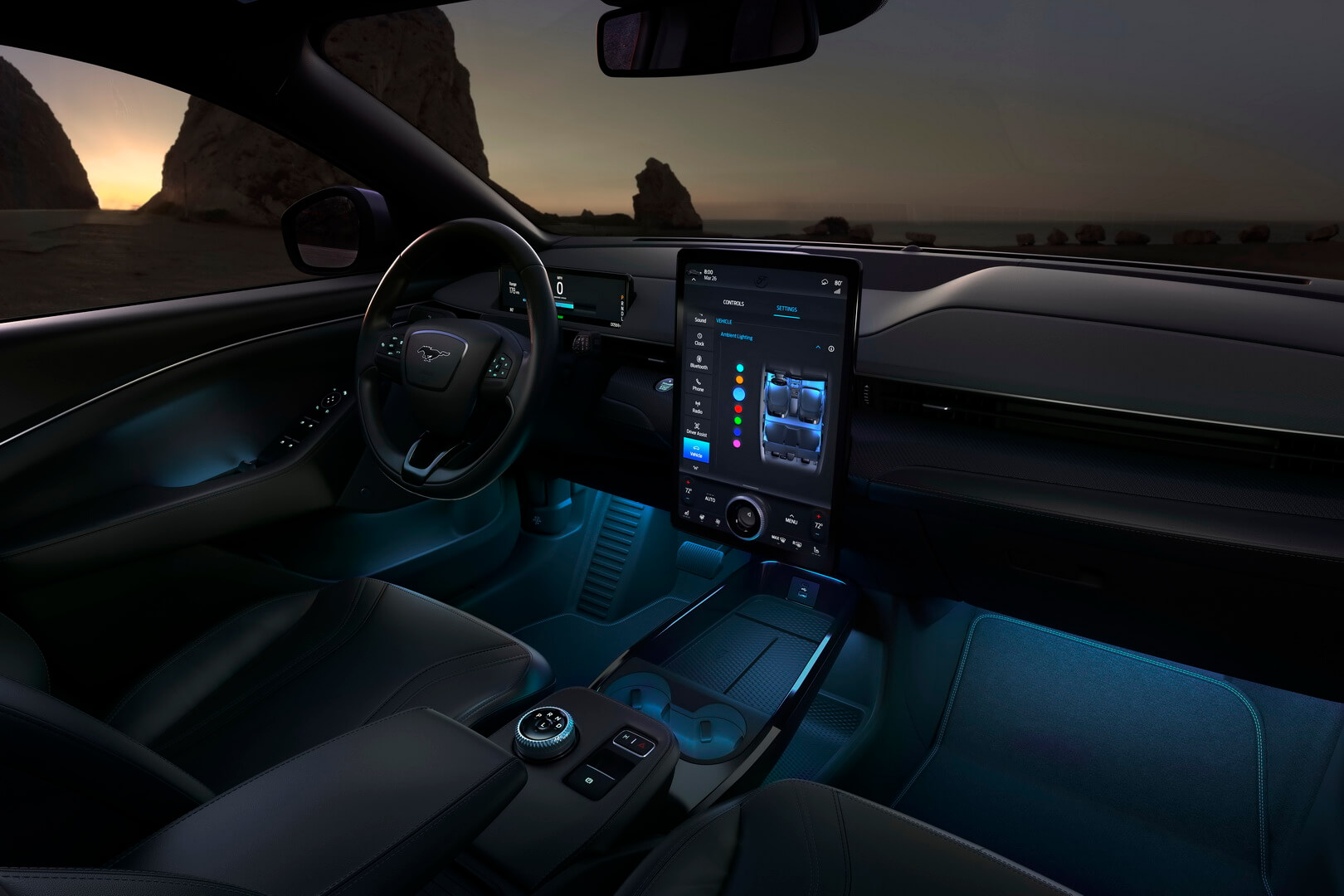Фотография экоавто Ford Mustang Mach-E Select AWD - фото 39