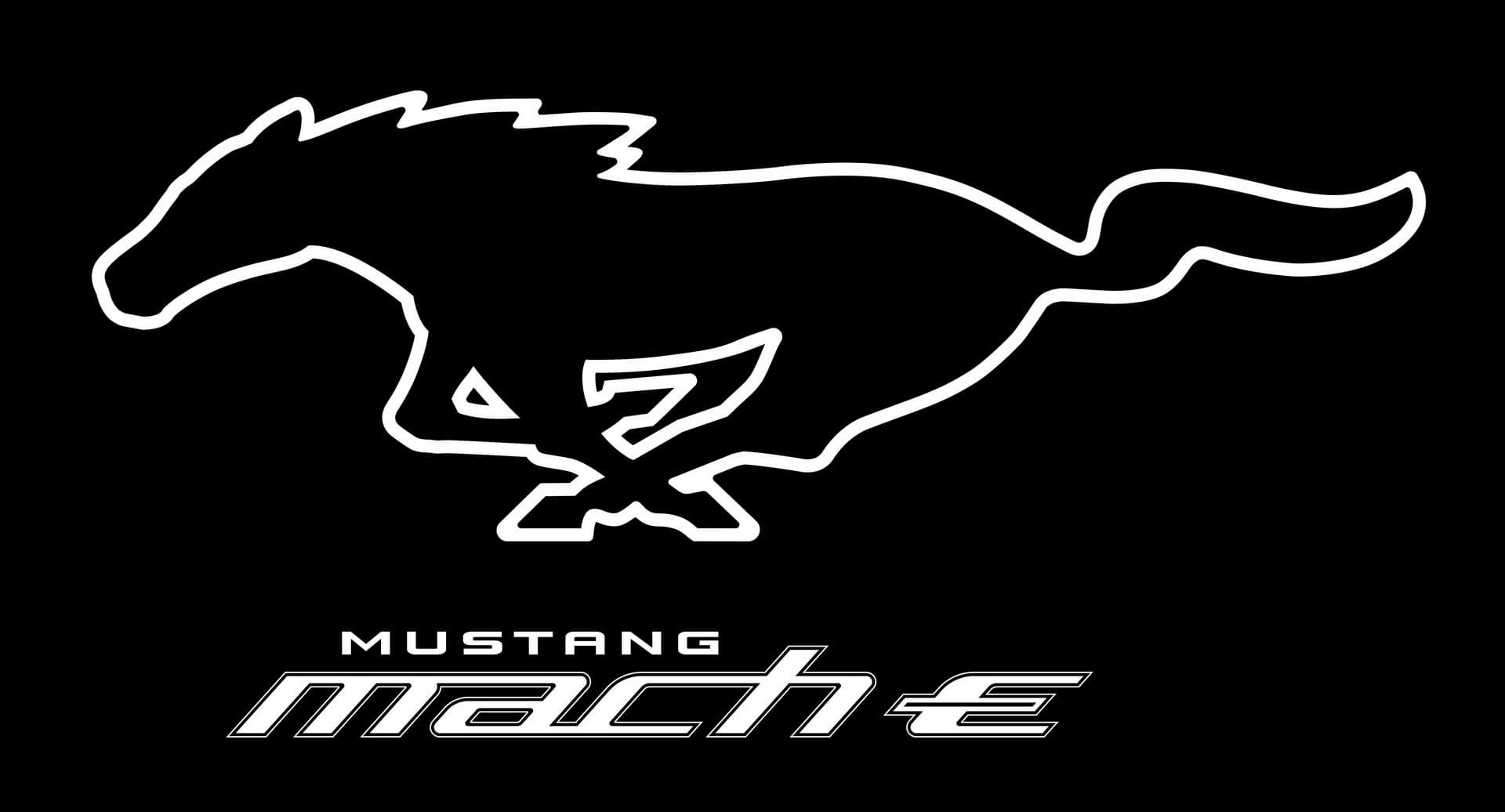 Логотип Mustang Mach-E Pony