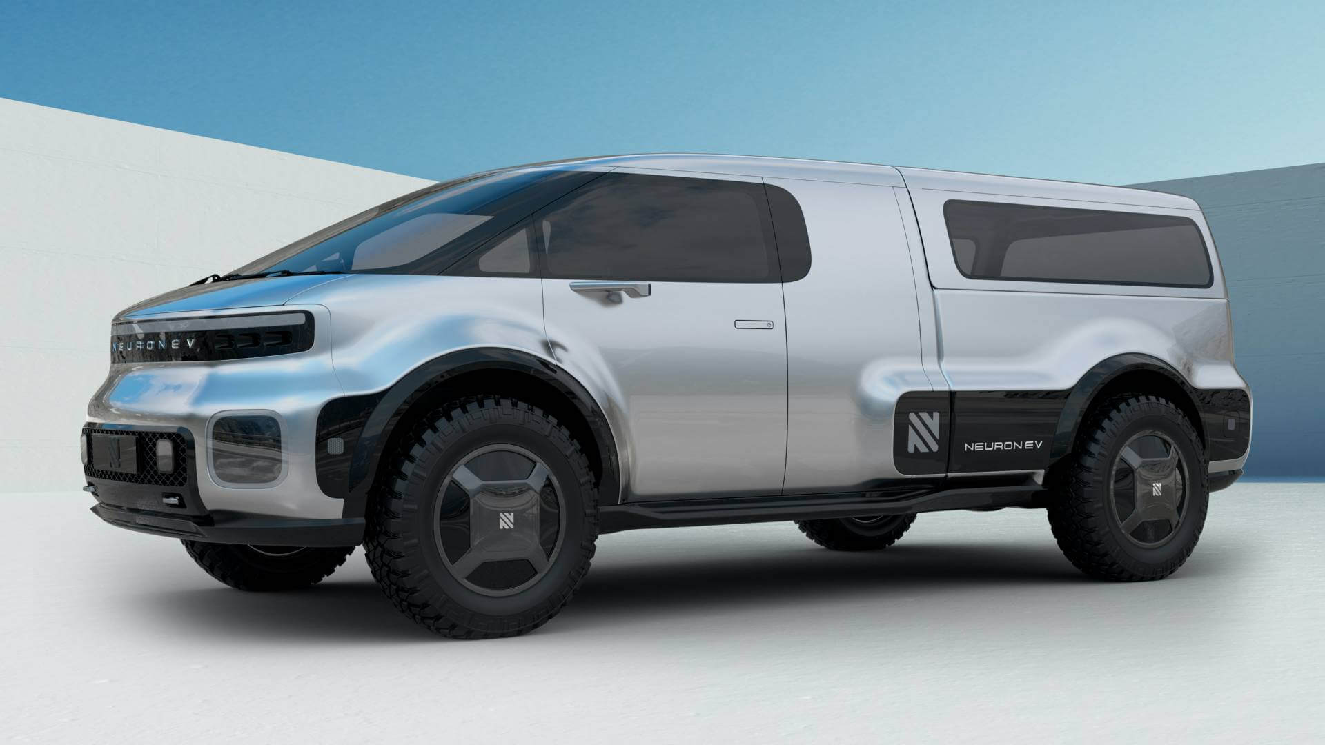 Электрический грузовик-трансформер T/ONE