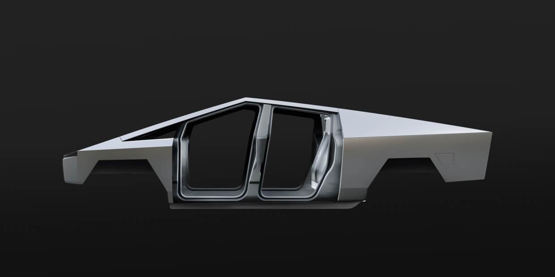 Экзоскелет Tesla Cybertruck