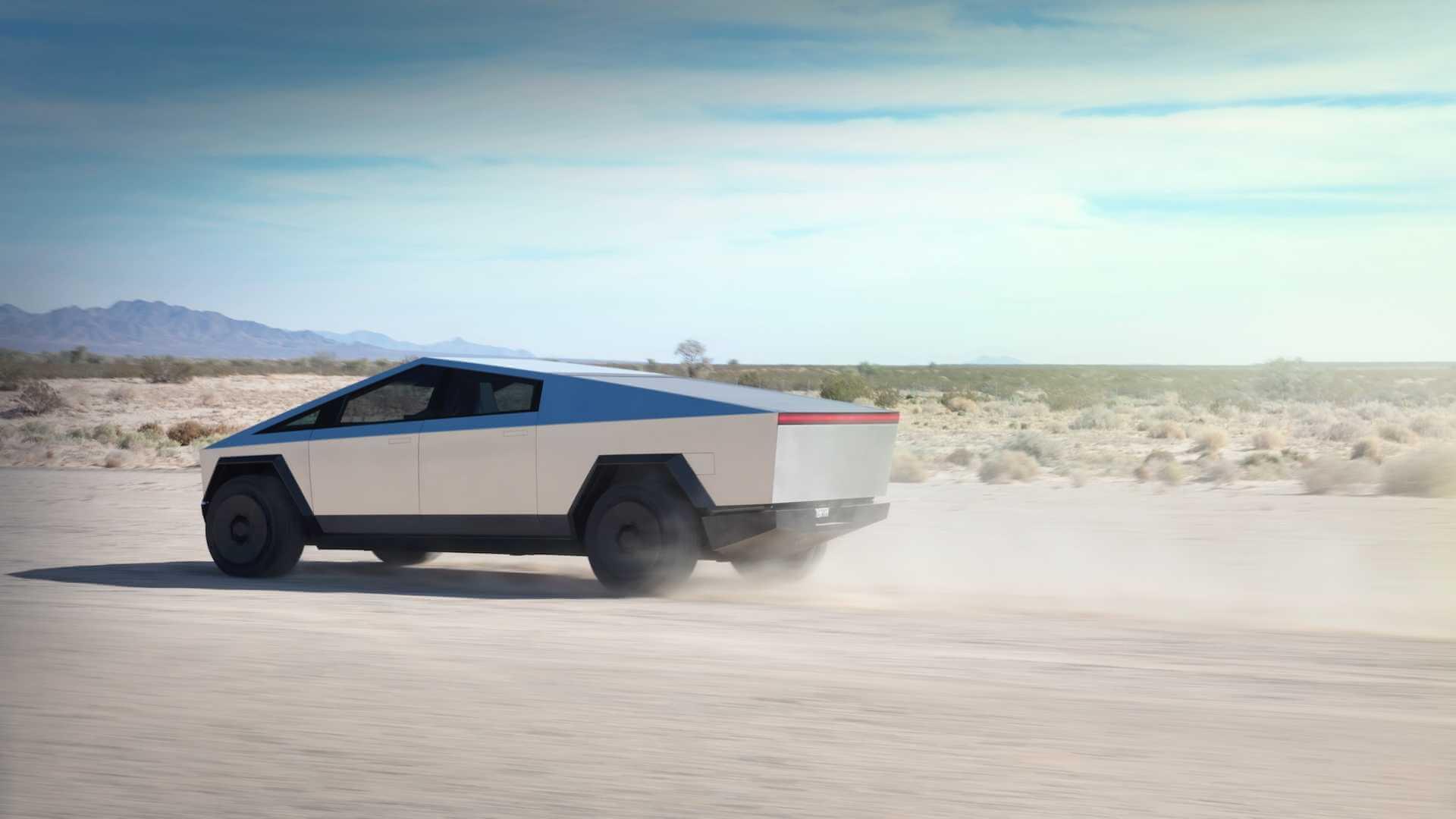 Фотография экоавто Tesla Cybertruck AWD (двухмоторный)
