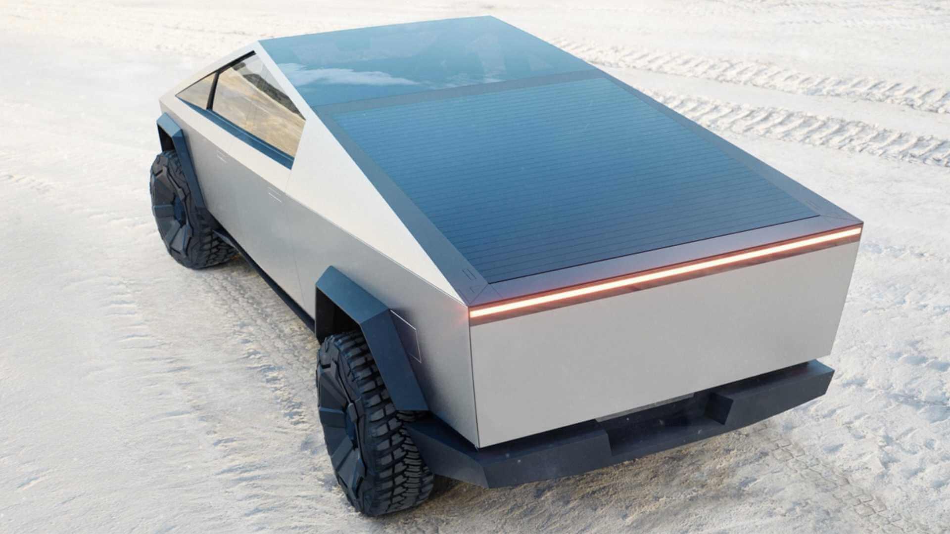 Фотография экоавто Tesla Cybertruck AWD (двухмоторный) - фото 4
