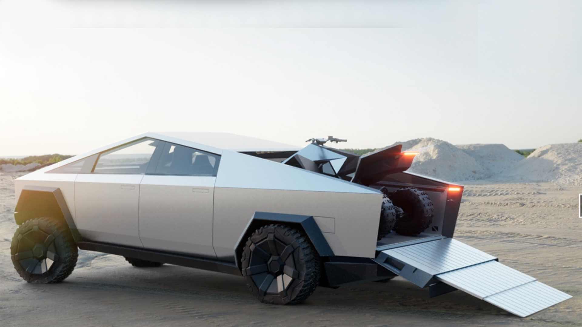 Фотография экоавто Tesla Cybertruck AWD (двухмоторный) - фото 19