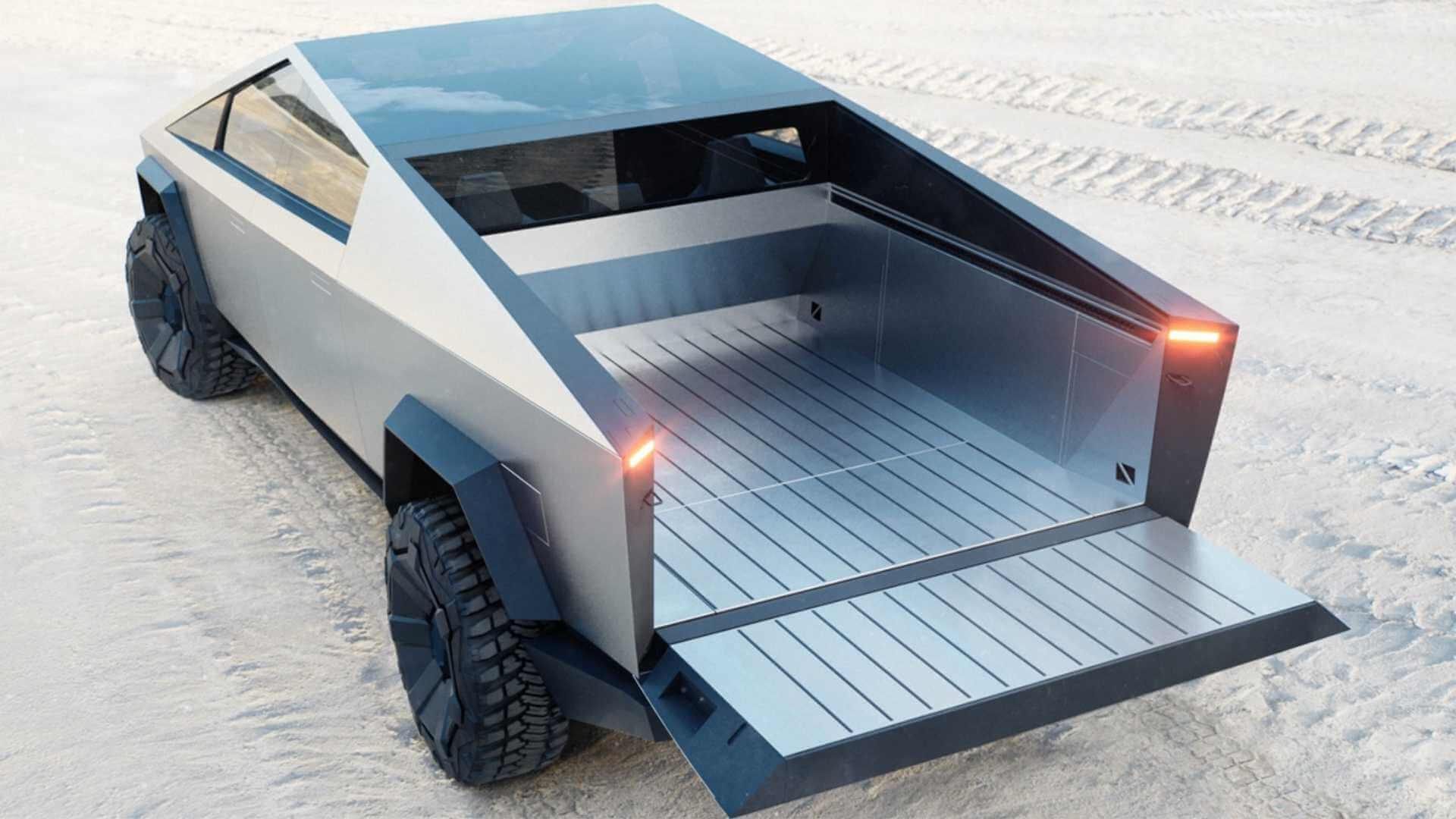 Фотография экоавто Tesla Cybertruck AWD (двухмоторный) - фото 15