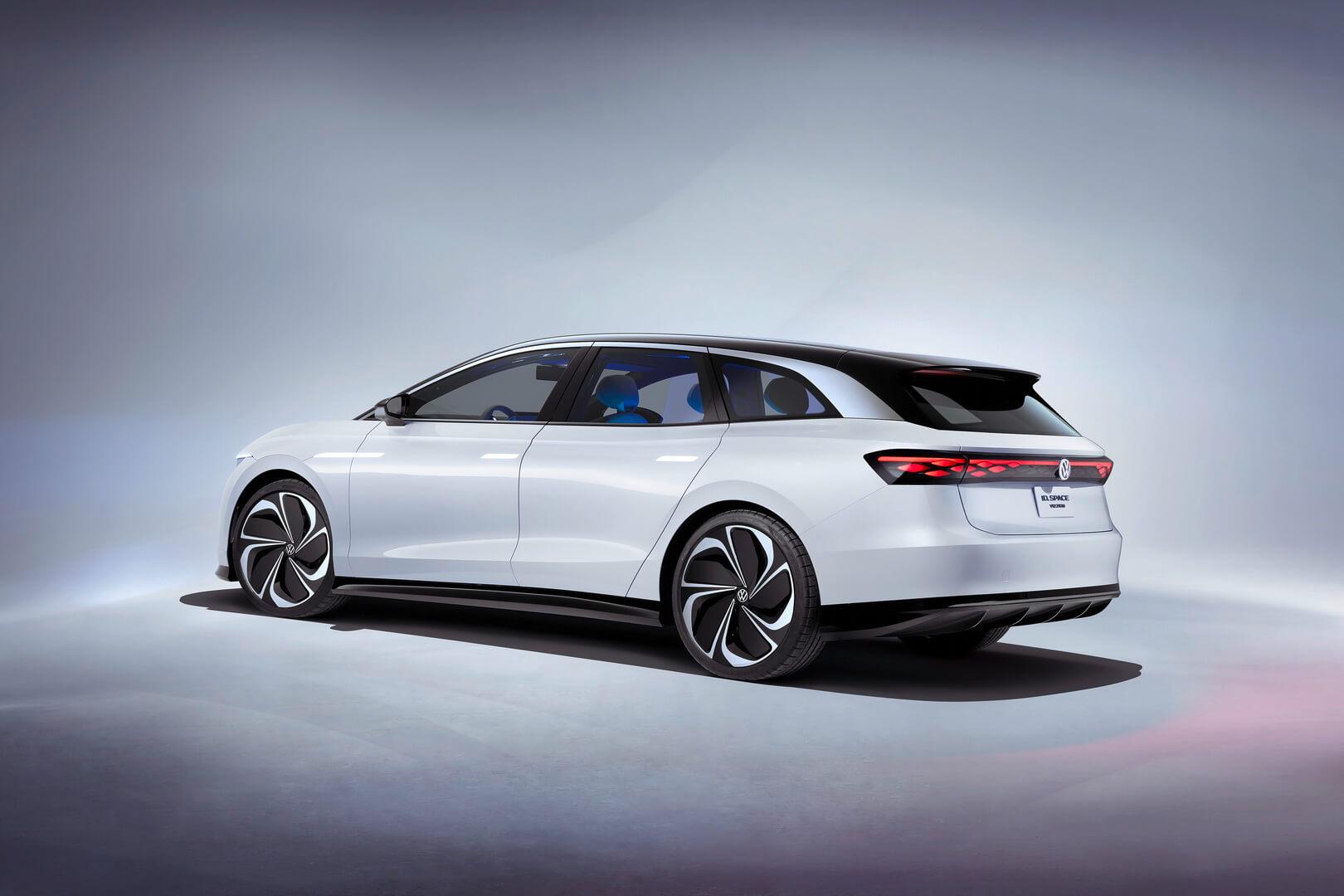 Концепт электрического универсала Volkswagen ID. SPACE VIZZION