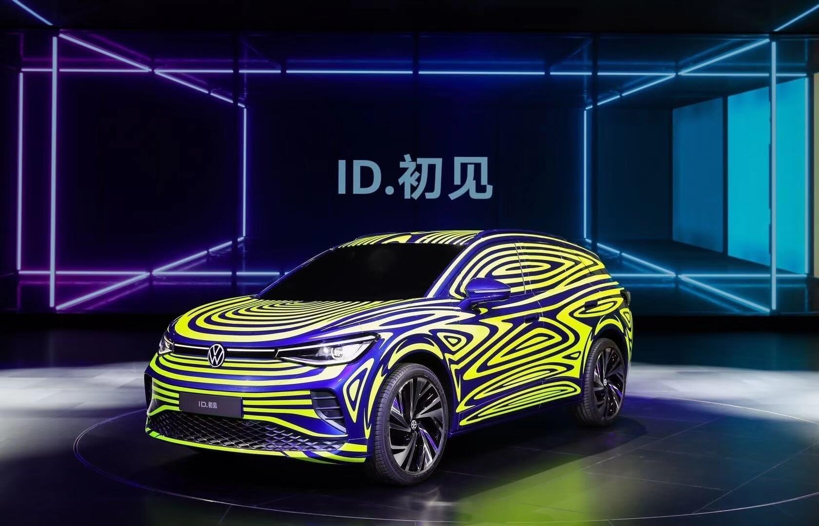 Электрический кроссовер Volkswagen ID. Next для китайского рынка