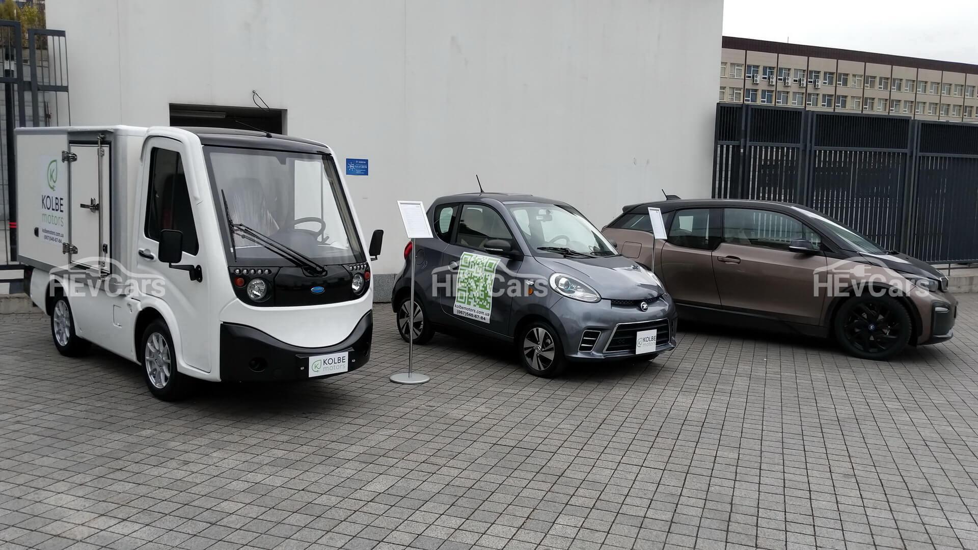 Двухместный электромобиль ZhiDou D2, электрофургон Cenntro Metro и BMW i3