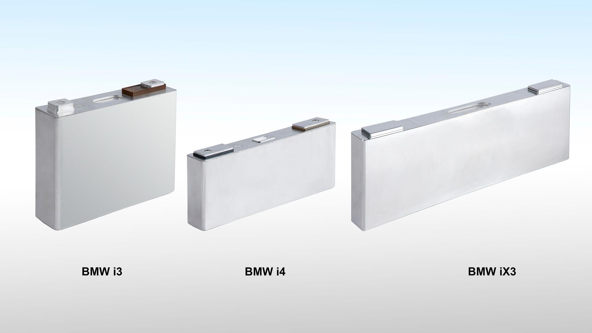Призматический дизайн аккумуляторных ячеек BMW