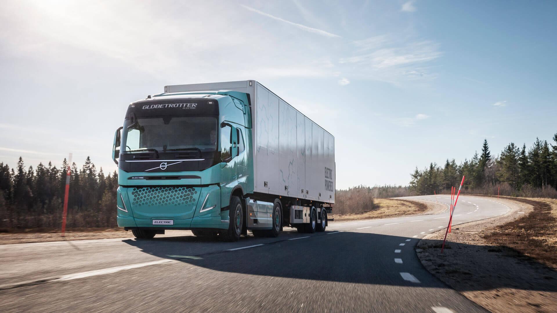 Электрический грузовик Volvo VNR Electric для региональных перевозок