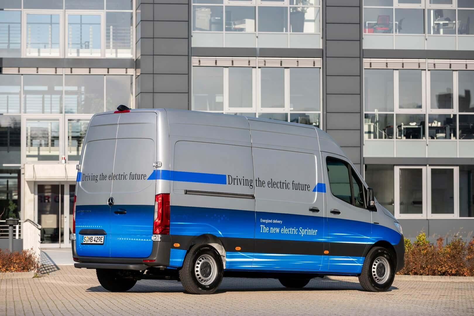 Mercedes-Benz eSprinter - фото 2