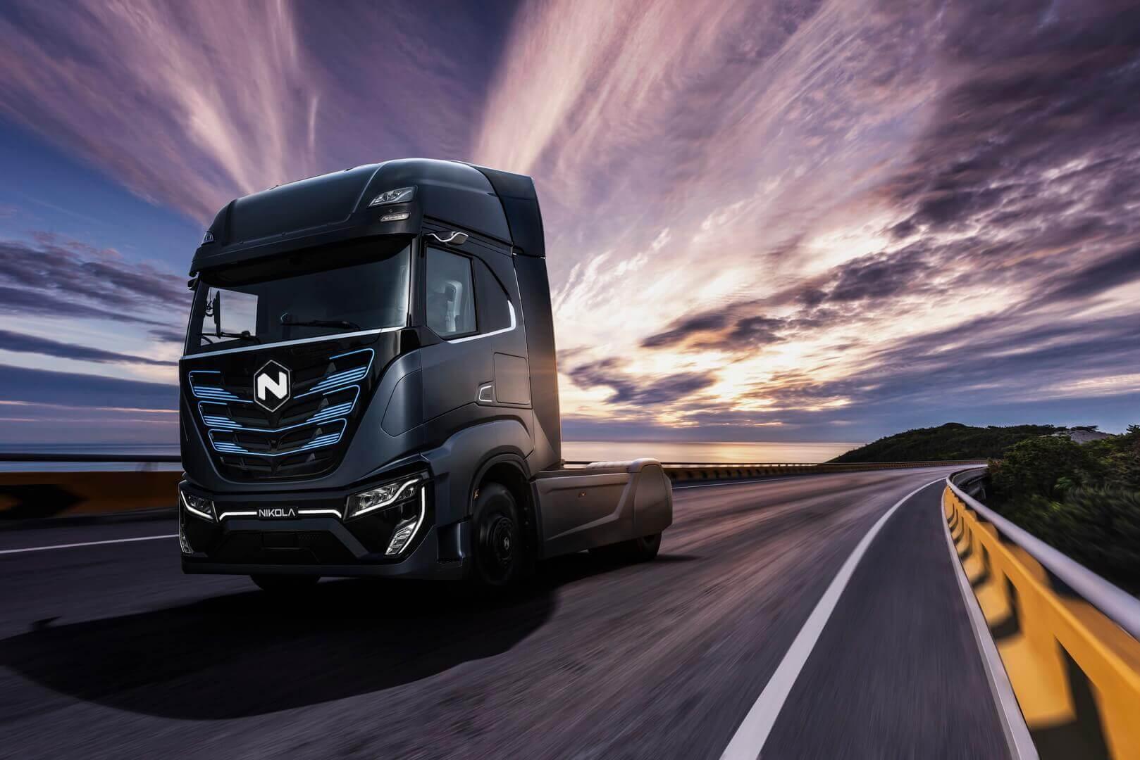 Электрический тягач Nikola TRE с запасом хода до 400 км для европейского рынка