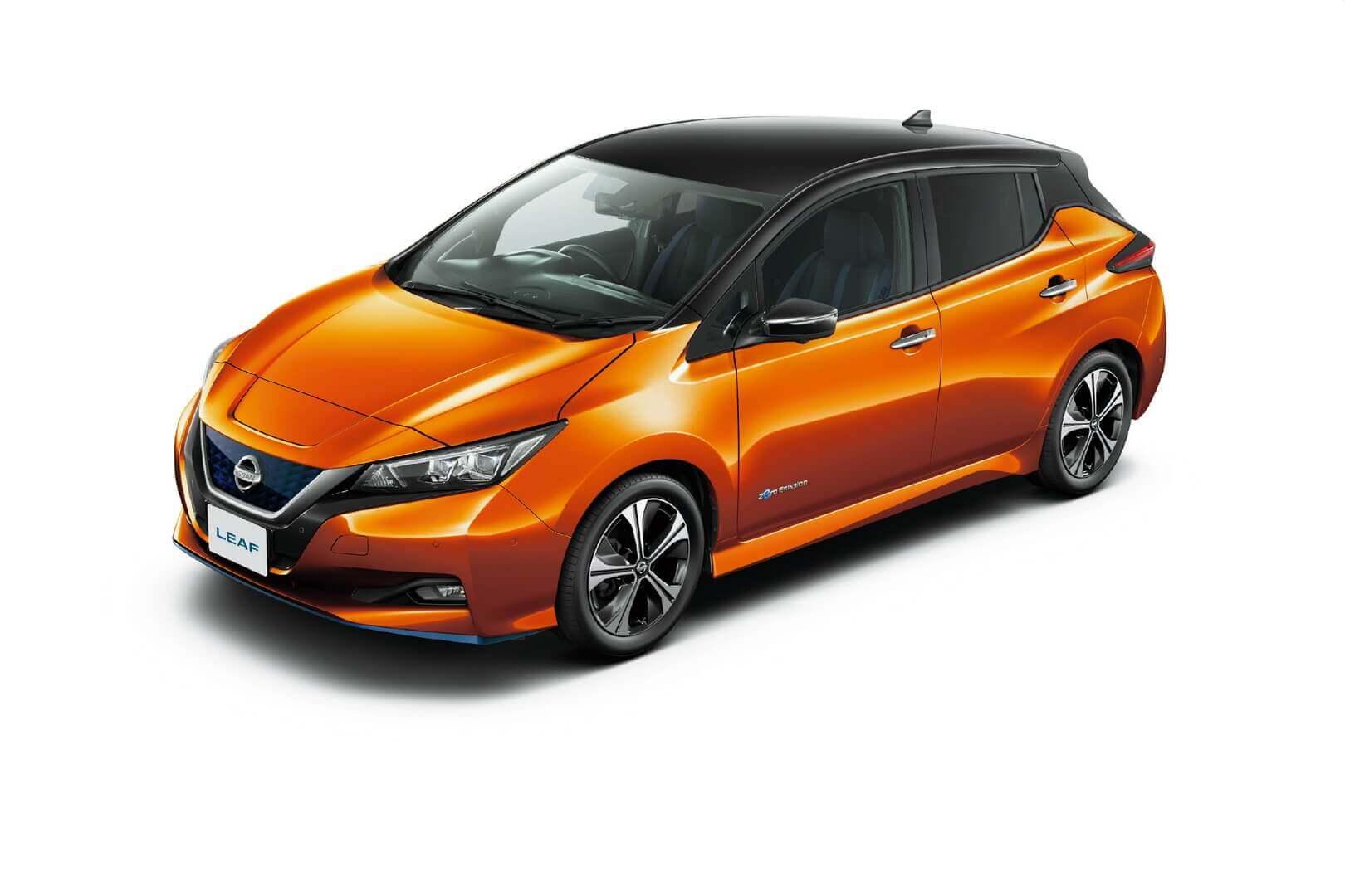 Nissan LEAF 2020 года