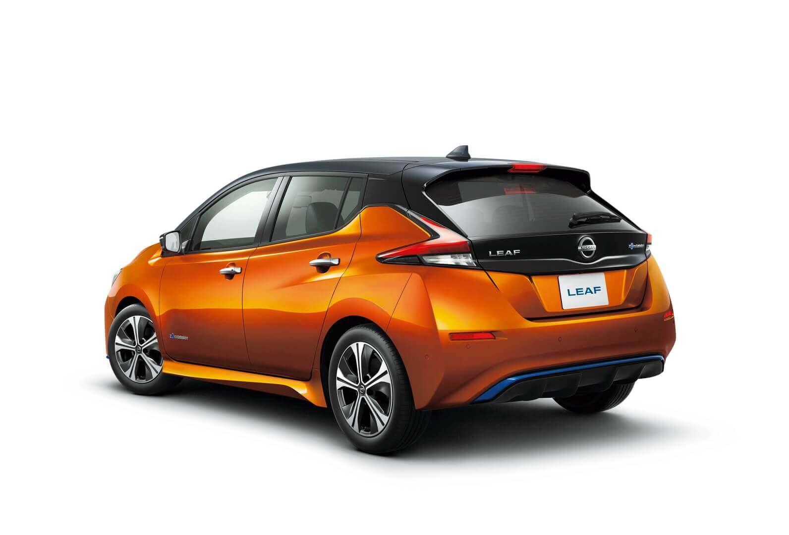 Nissan обновил LEAF 2020 года для японского рынка