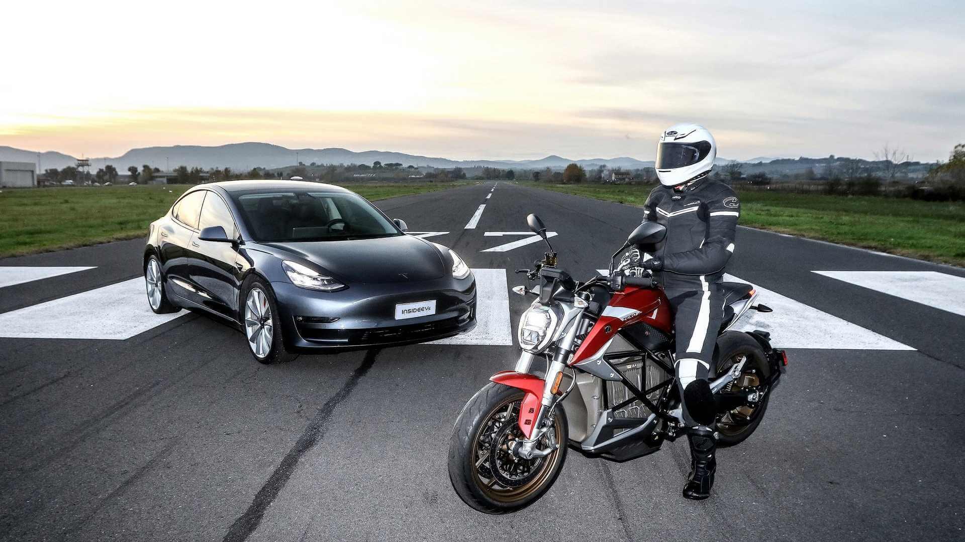 Tesla Model 3 Performance и Zero SR/F