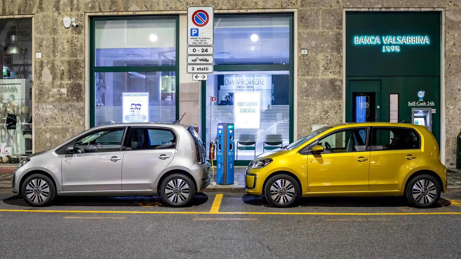 Городской электрокар Volkswagen e-Up!