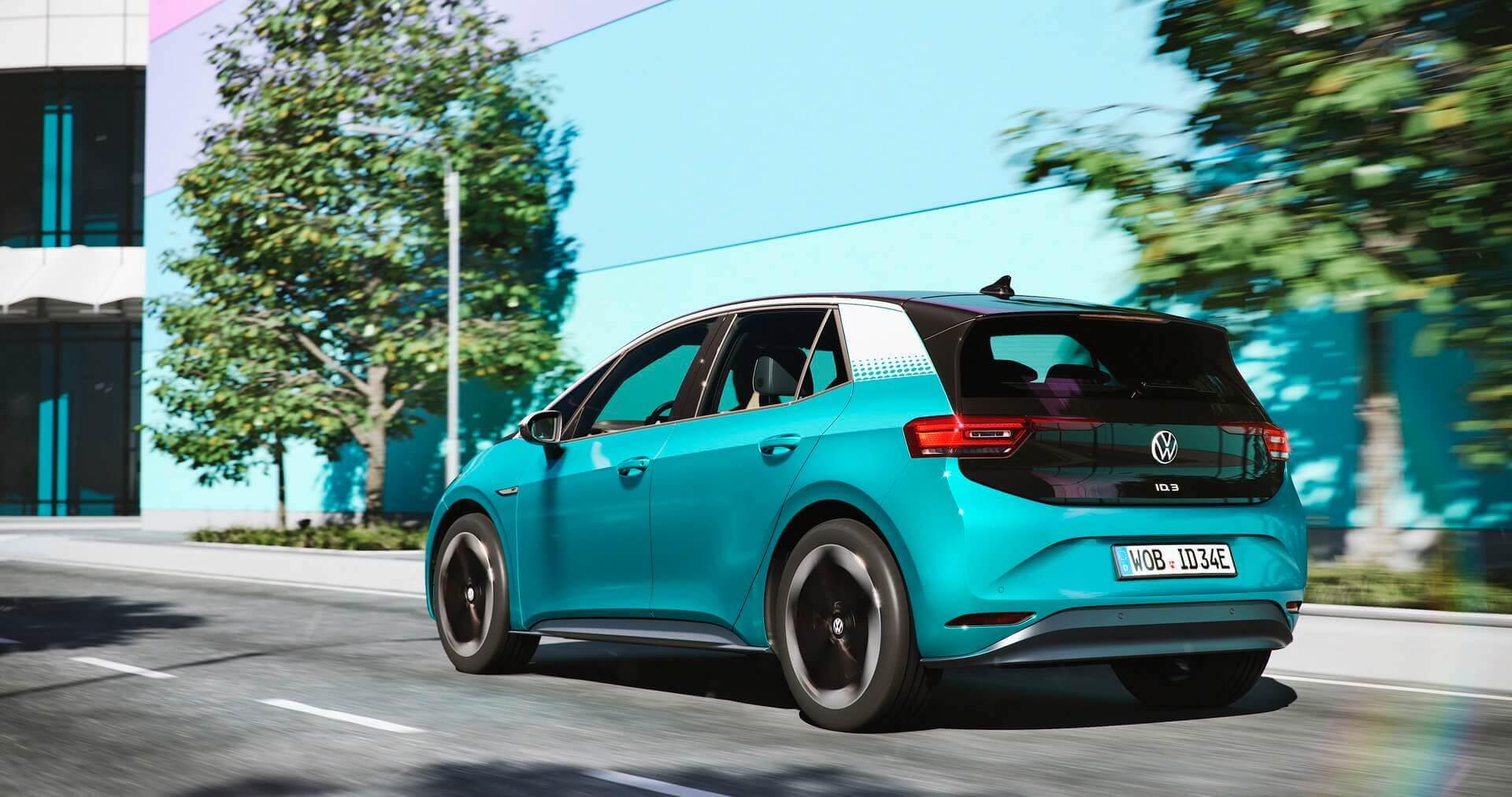 Электромобиль Volkswagen ID.3