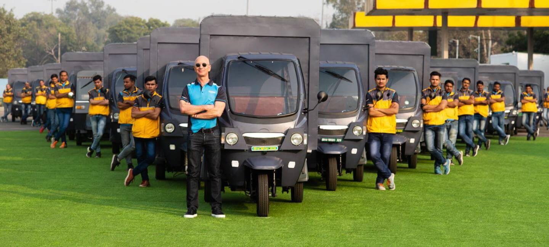 Amazon увеличит электрический автопарк в Индии до 10 000 к 2025 году