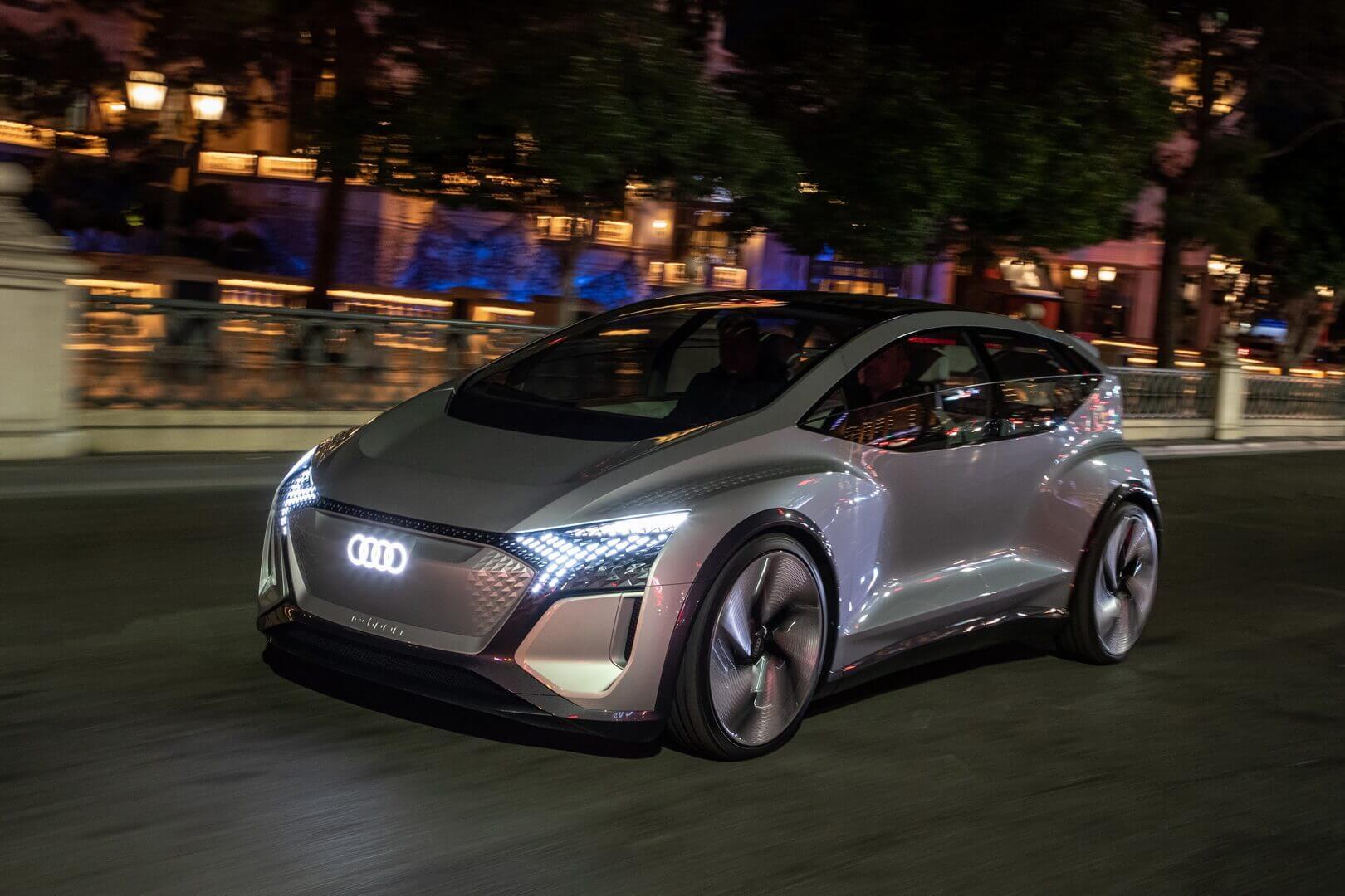Автономный концепт Audi AI:ME