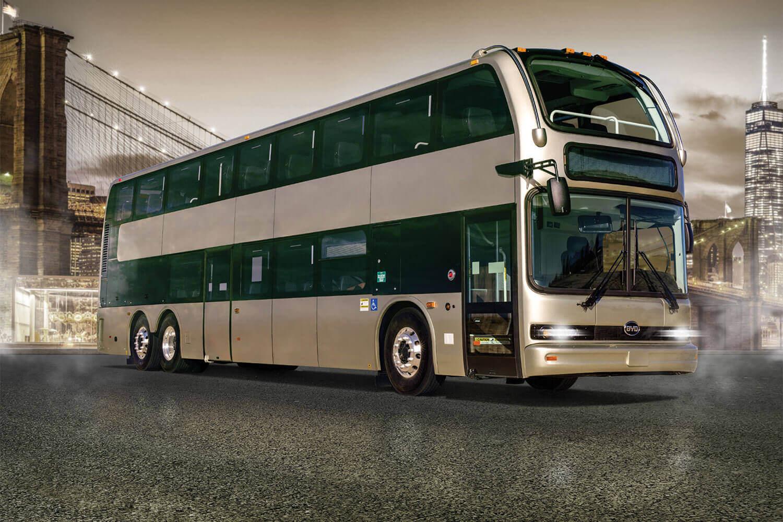 BYD представил самый большой двухэтажный электрический автобус в Северной Америке