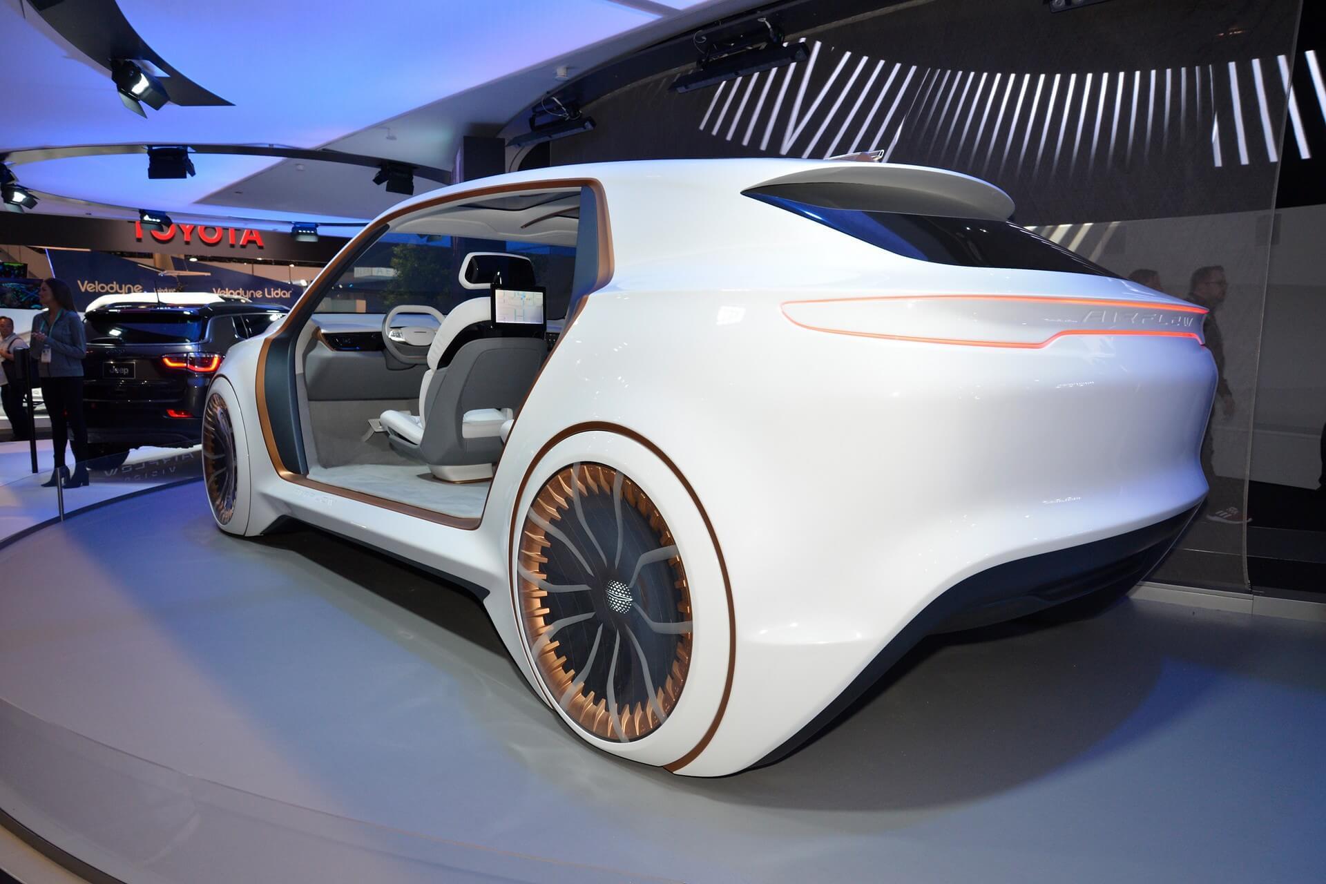 Концепция Chrysler Airflow Vision на выставке CES 2020