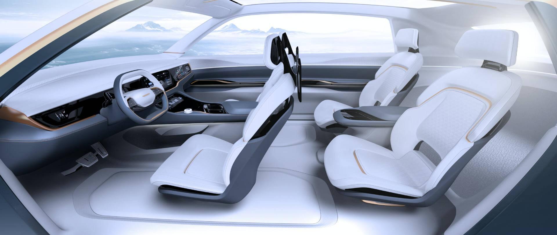 Салон Chrysler Airflow Vision