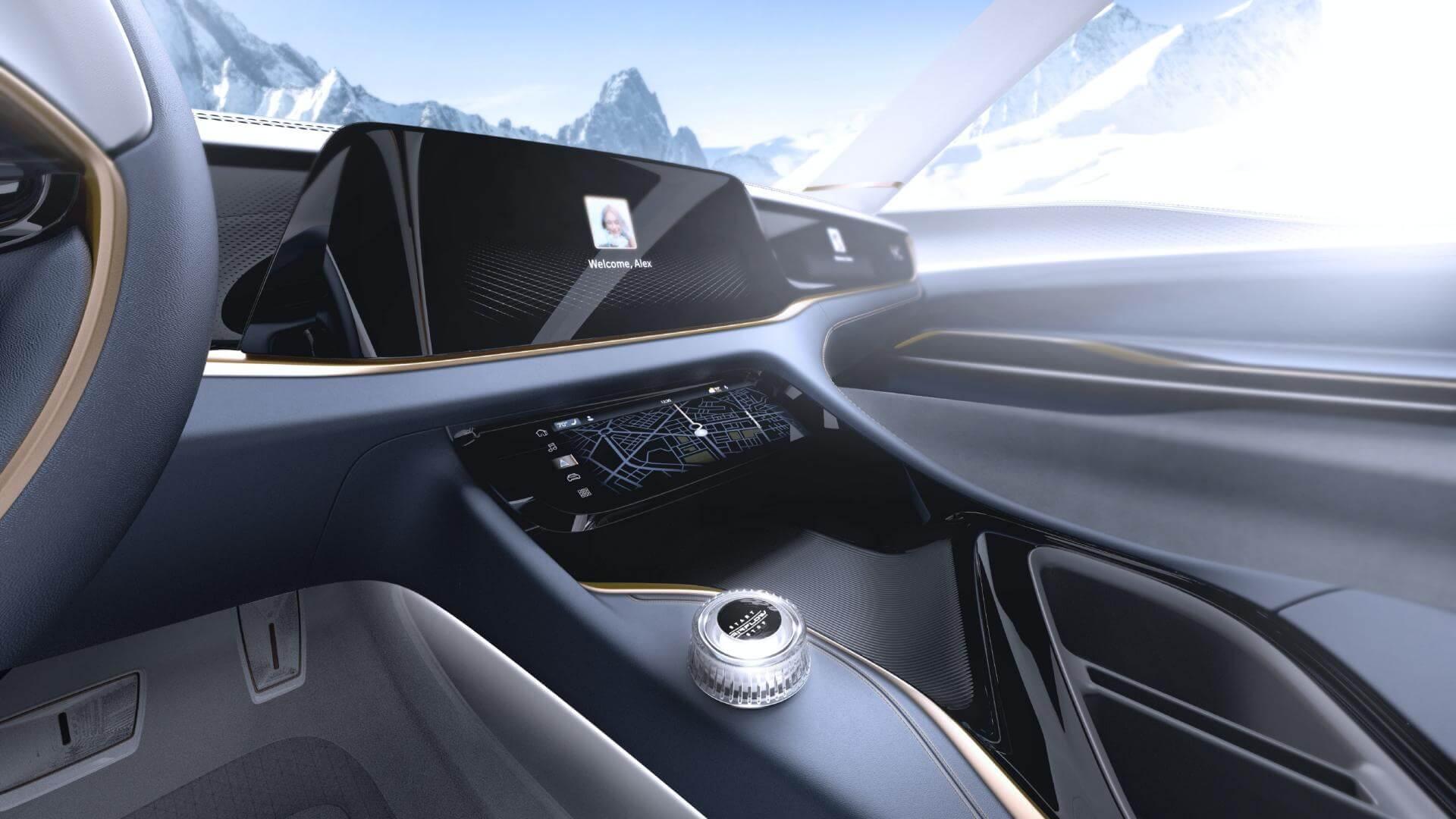 Интерьер Chrysler Airflow Vision