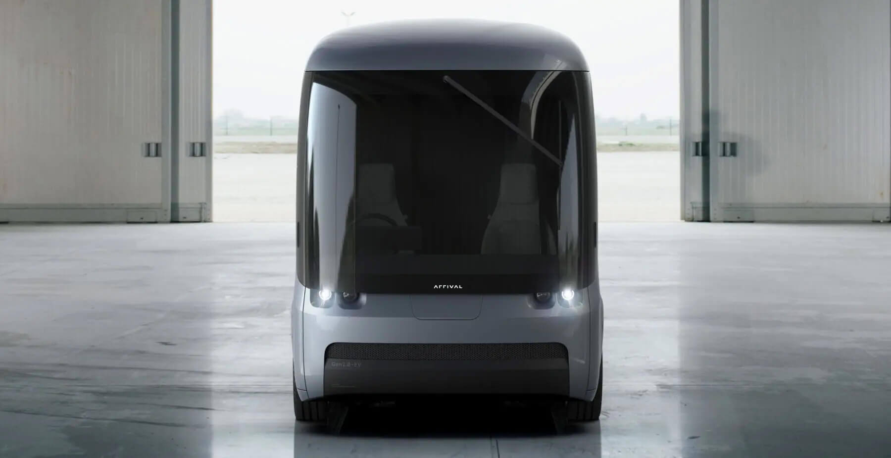 Электрический фургон Arrival второго поколения