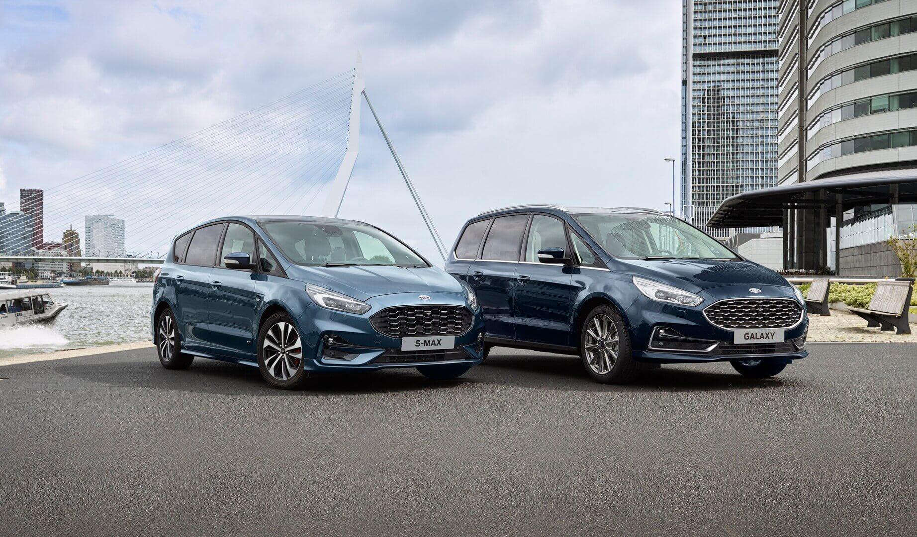Ford S-Max Hybrid и Galaxy Hybrid