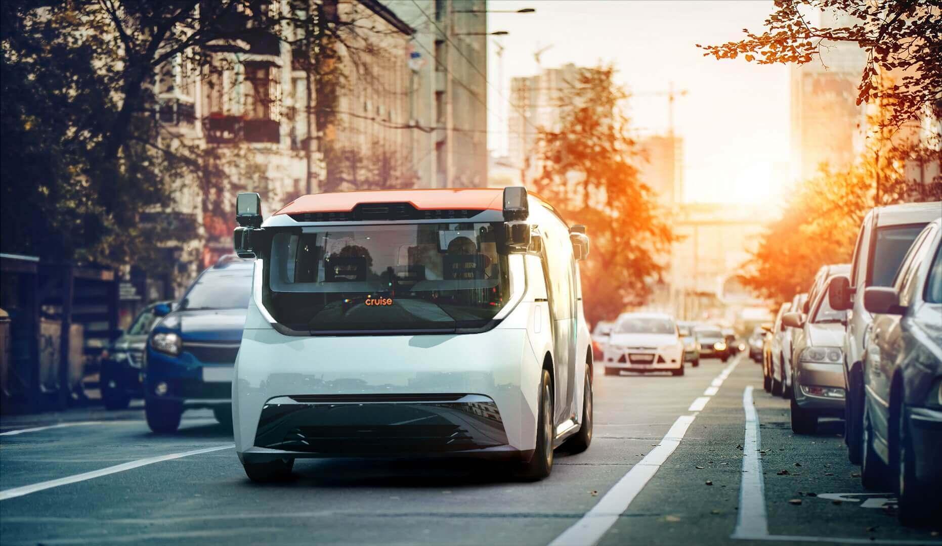 Беспилотный электромобиль для совместного использования GM Cruise