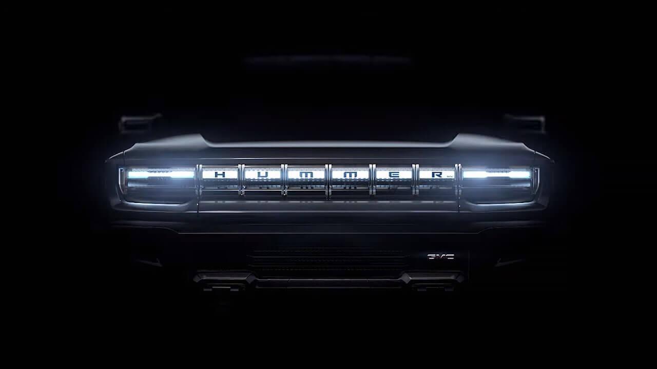 Тизер электрического GMC Hummer EV