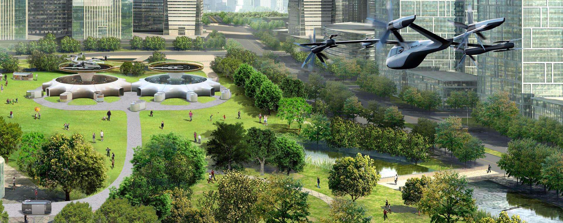 Hyundai Motor представила инновационное видение городской мобильности на CES-2020