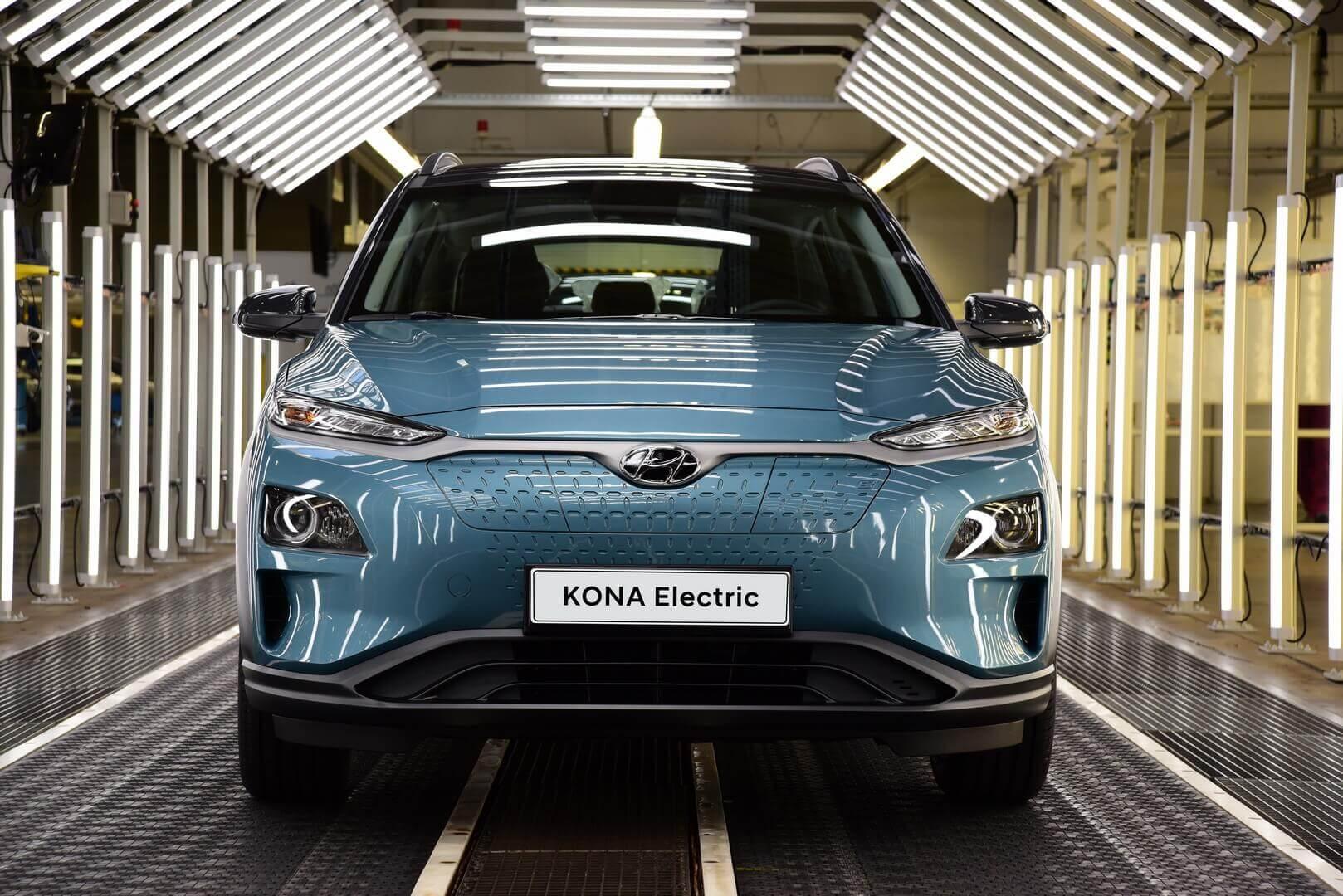 Hyundai начнет производить Kona Electric на чешском заводе с марта 2020 года