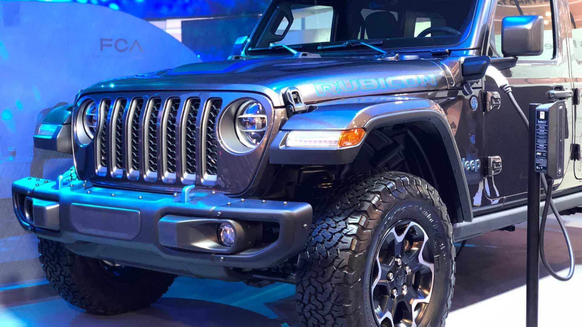 Jeep Wrangler PHEV 4x4 представлен в Лас-Вегасе