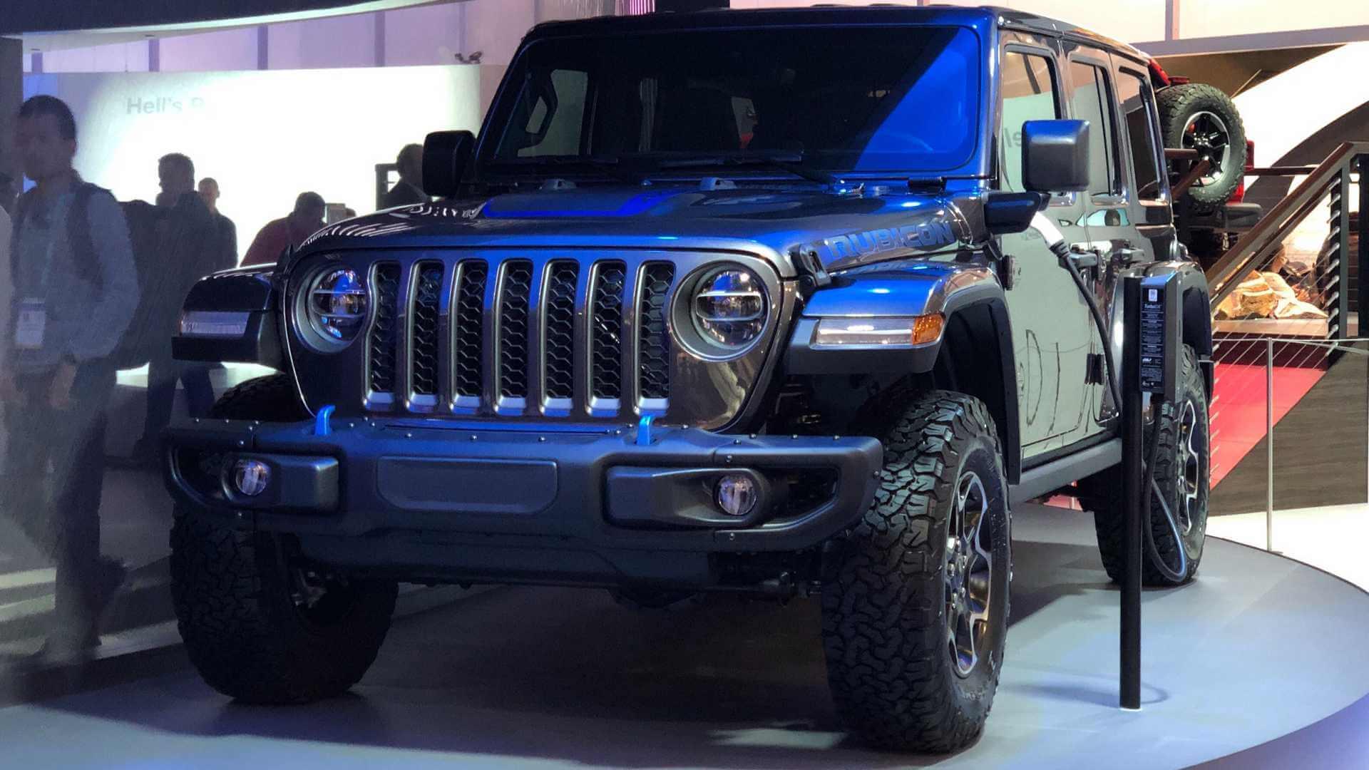 Плагин-гибрид Jeep Wrangler