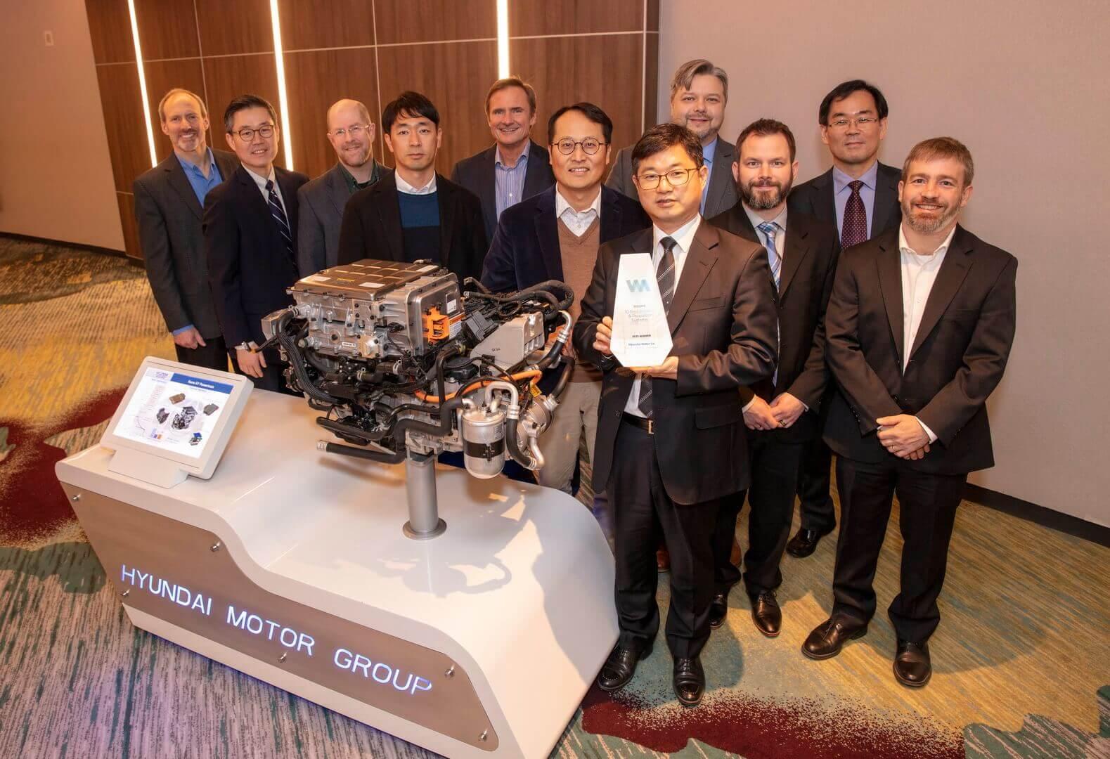 Электрический двигатель Hyundai Kona Electric получил награду рейтинга «Wards 10 Best Engines»