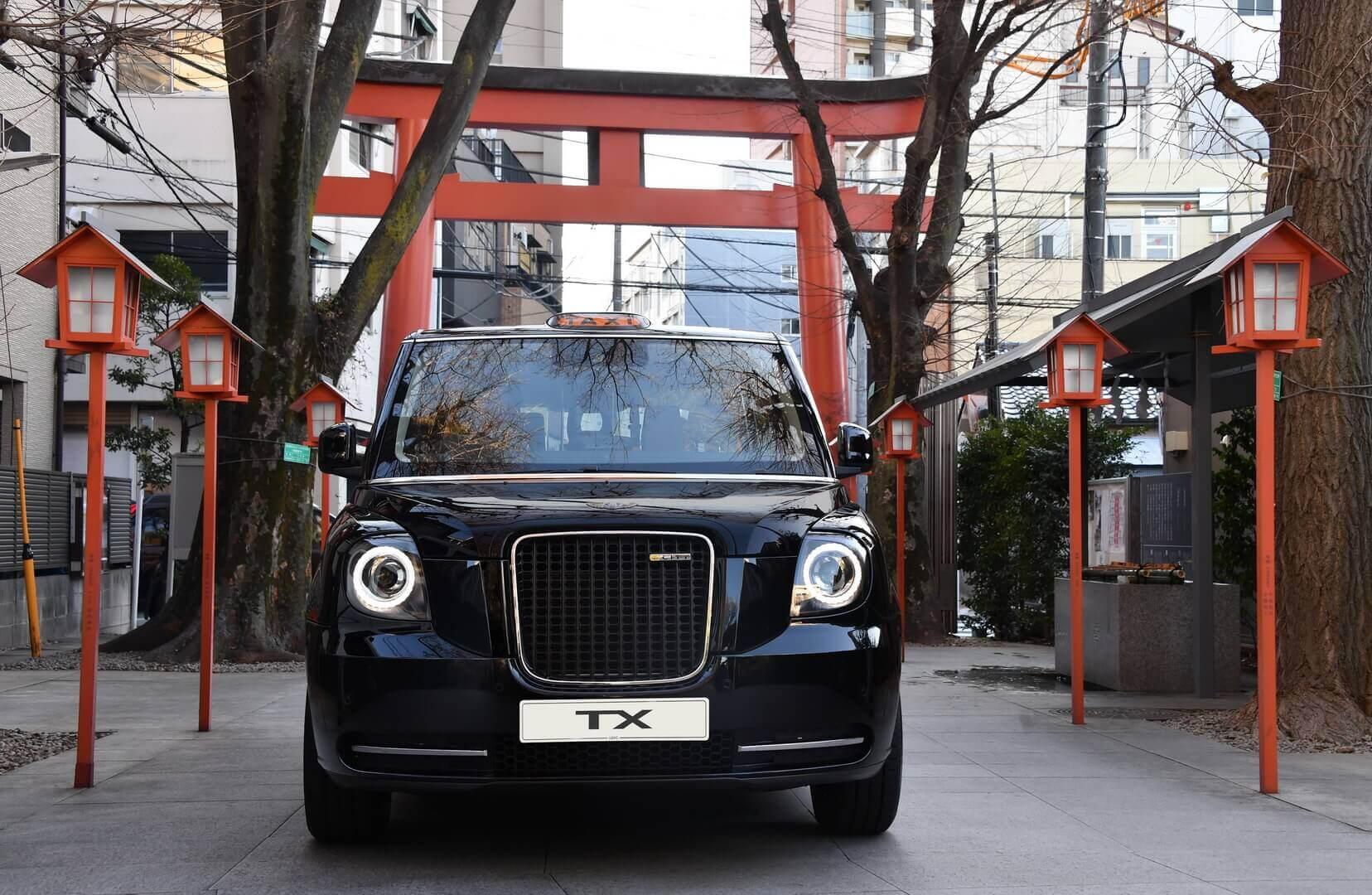 LEVC выходит на японский рынок с электрическими такси