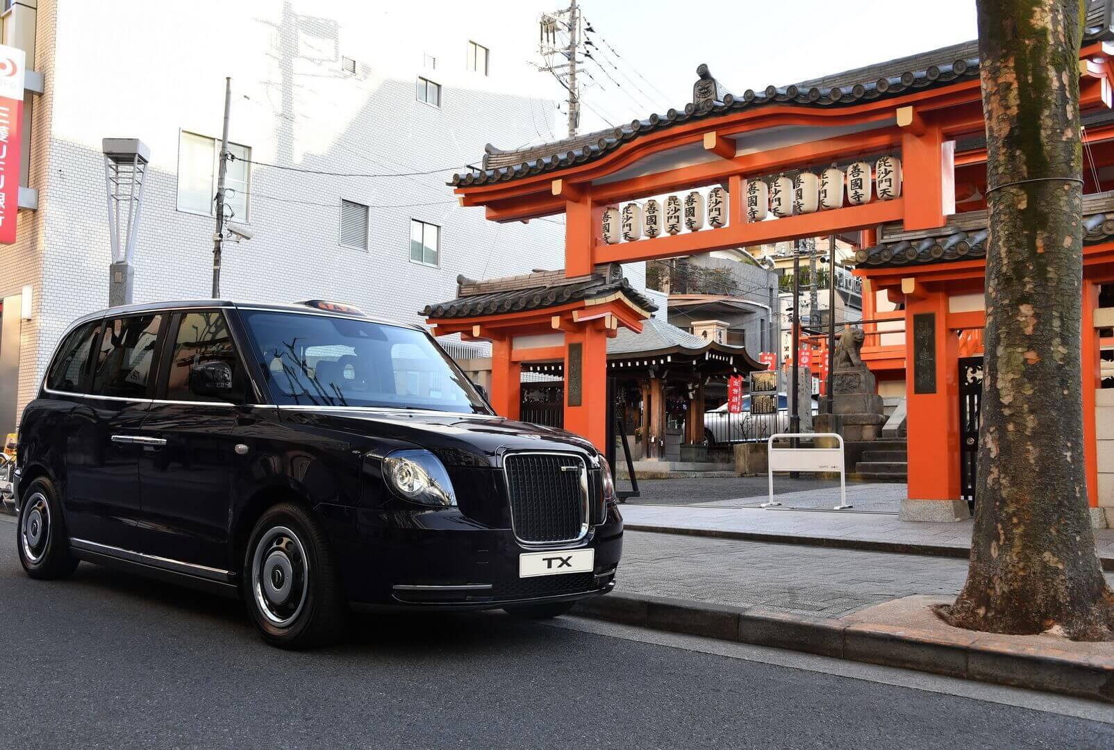 Культовое электрическое лондонское такси выходит наяпонский рынок